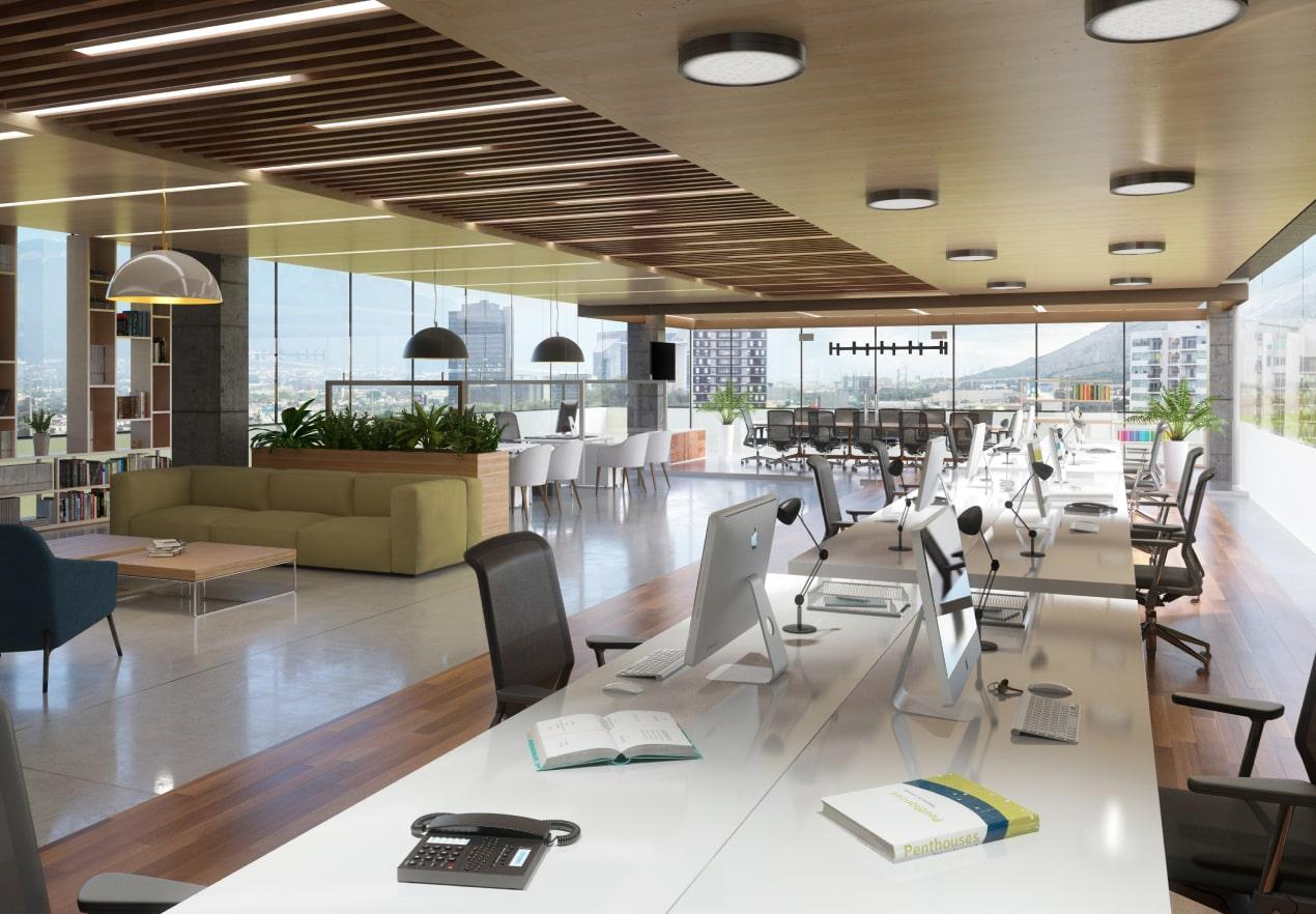 Oficinas para elevar productividad